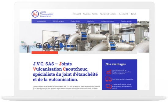 Creation site internet J.V.C. SAS