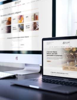 Maison Dufossé L'Épicerie création boutique en ligne