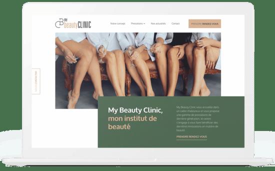Beauty Clinic création site internet
